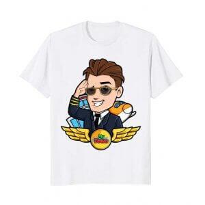 My Town Airport – Pilot T-shirt