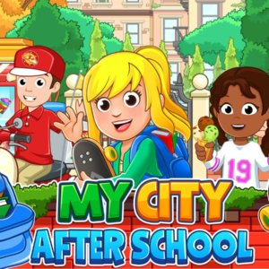 School's Out!  Chores Done!  Homework Finished!  It's Time to Play 'My City: After School!'