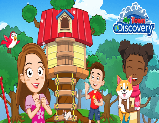 Decorate your own TREEHOUSE!