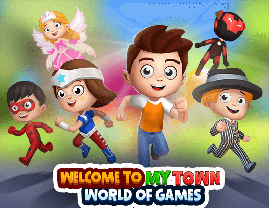 Join the exciting 3D world of My Town